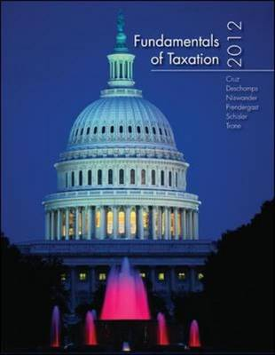 Fundamentals of Taxation 2012 (Paperback)