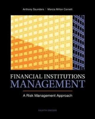Financial Institutions Management: A Risk Management Approach (Hardback)