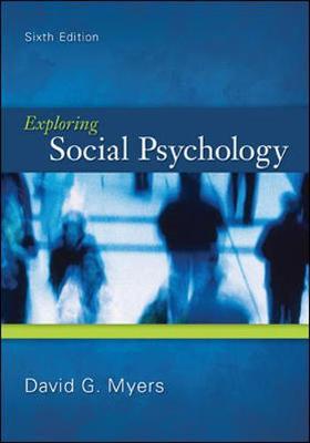 Exploring Social Psychology (Paperback)