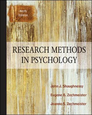 Research Methods In Psychology (Hardback)