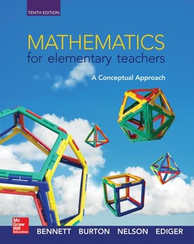 Mathematics for Elementary Teachers: A Conceptual Approach (Hardback)