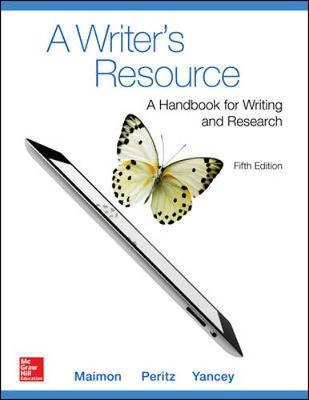 A Writer's Resource (comb-version) Student Edition (Paperback)