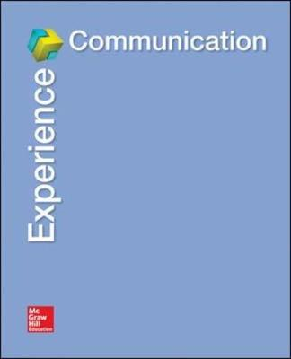 Experience Communication (Spiral bound)