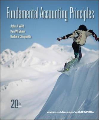 Fundamental Accounting Principles (Hardback)