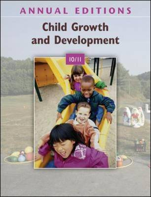 Child Growth and Development 2010-2011 - Annual Editions (Paperback)