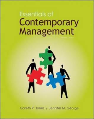 Essentials of Contemporary Management (Paperback)