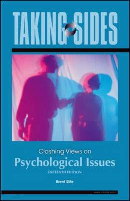 Clashing Views on Psychological Issues - Taking Sides (Paperback)