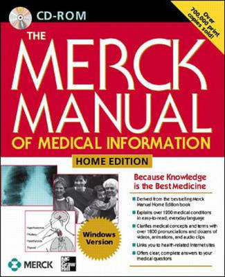 The Merck Manual of Medical Information: Home Edition (CD-ROM)