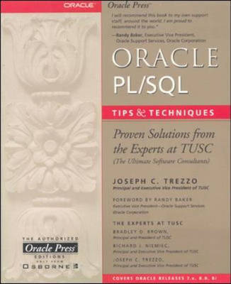 Oracle PL/SQL Tips and Techniques - Oracle Press Series (Paperback)