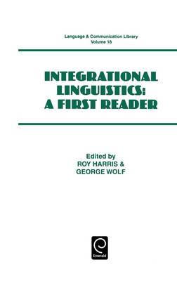 Integrational Linguistics - Language & Communication Library 18 (Hardback)