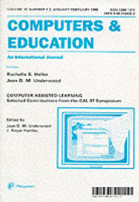 Computers and Education: Computer Assisted Learning: Selected Contributions from the Cal97 Symposium (Paperback)