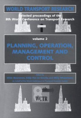 World Conference on Transport Research (4 Vol. Set) - World Transport Research (Hardback)