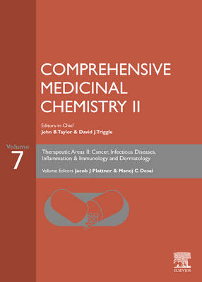 Comprehensive Medicinal Chemistry II: Therapeutic Areas II: Cancer, Infectious Diseases, Inflammation and Immunology and Dermatology v. 7 (Hardback)