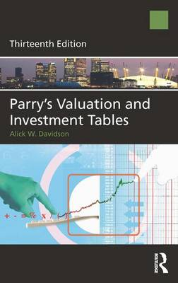 Parry's Valuation and Investment Tables (Hardback)