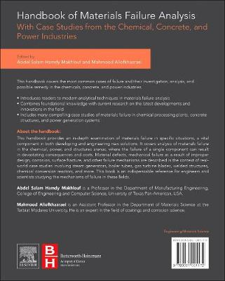 Handbook of Materials Failure Analysis with Case Studies from the Chemicals, Concrete and Power Industries (Hardback)