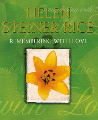 Remembering With Love (Hardback)