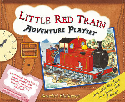 Little Red Train: Adventure Playset (Hardback)