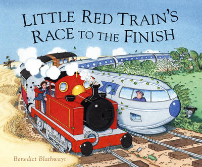 Little Red Train's Race to the Finish (Hardback)