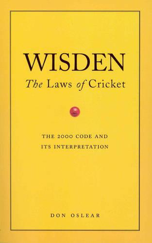 Wisden's The Laws Of Cricket (Paperback)