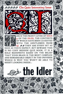The Idler (Issue 41) QI Issue (Paperback)