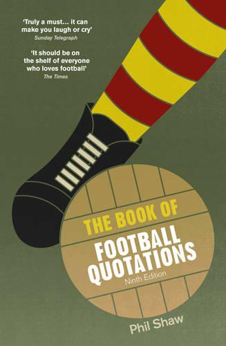 The Book of Football Quotations (Paperback)