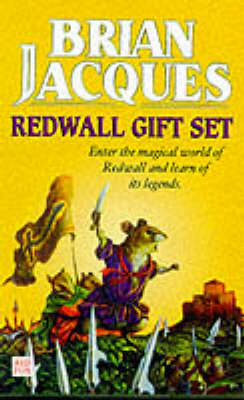 "Redwall Gift Set: ""Martin the Warrior"", ""Mossflower"" and ""Outcast of Redwall"" - Tales of Redwall (Paperback)"