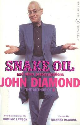 Snake Oil And Other Preoccupations (Paperback)