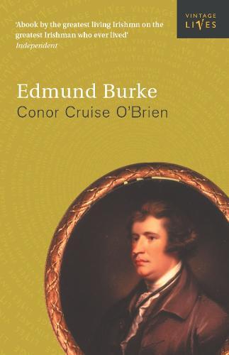 Edmund Burke - Vintage Lives (Paperback)