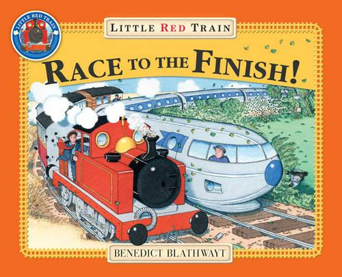 Little Red Train's Race to the Finish - Little Red Train (Paperback)