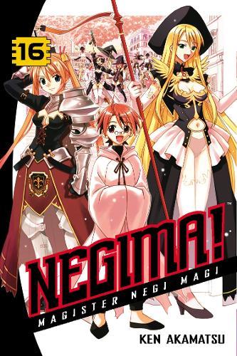 Negima Volume 16 - Negima (Paperback)