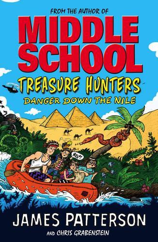 Treasure Hunters: Danger Down the Nile - Treasure Hunters (Paperback)