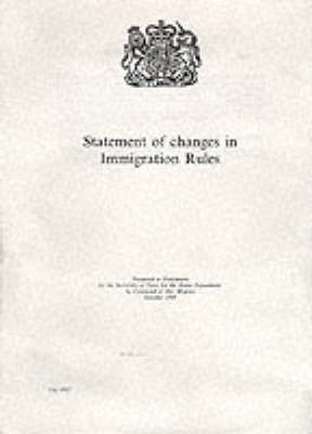 Statement of Changes in Immigration Rules - House of Commons Papers Session 2007-08 (Paperback)