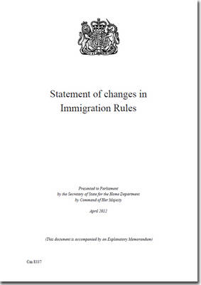 Statement of changes in immigration rules - House of Commons Papers 2010-12 1888 (Paperback)