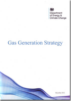 Gas generation strategy - Cm. 8407 (Paperback)