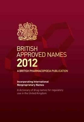 British Approved Names 2012 (Hardback)