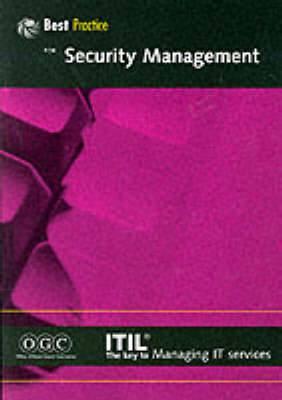 Security Management: Part 14 - IT Infrastructure Library (Paperback)