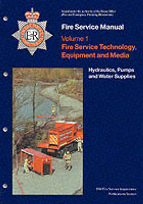 Hydraulics: Fire Service Technology, Equipment and Media v. 1 - Fire Service Manual (Paperback)