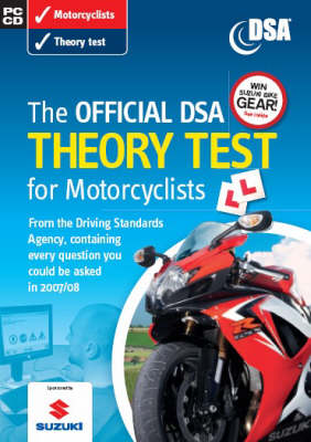 The Official DSA Theory Test for Motorcyclists: Valid for Tests Taken from 3 September 2007 (CD-ROM)