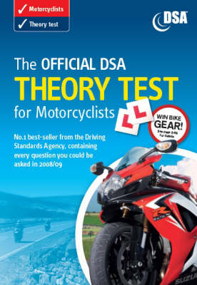 The The Official DSA Theory Test for Motorcyclists 2008/09: The official DSA theory test for motorcyclists [CD-ROM] Valid for Tests Taken from 1 September 2008 (Paperback)