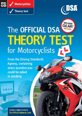 The official DSA theory test for motorcyclists [CD-ROM] (CD-ROM)