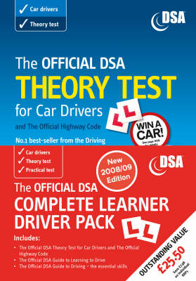 The Official DSA Complete Learner Driver Pack: Valid for Tests Taken from 1 September 2008 (Paperback)