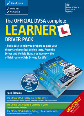 The official DSA complete learner driver pack: [printed version] (Paperback)