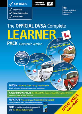The Official DVSA complete learner driver pack [electronic version] (Paperback)