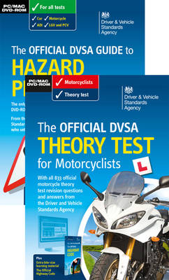 Official DVSA Theory Test for Motorcyclists Pack 2014 (Paperback)