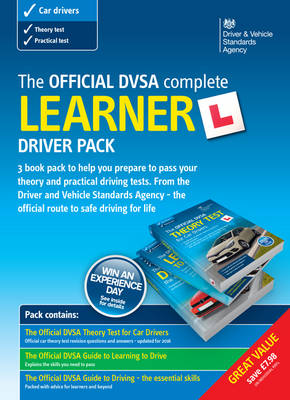 The official DVSA complete learner driver pack [DVD] (Paperback)