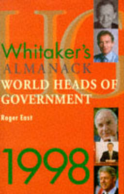Whitaker's Almanack World Heads of Government 1998 (Hardback)