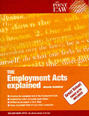 Employment Acts Explained - Point of Law S. (Hardback)