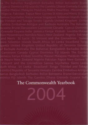 The Commonwealth Yearbook 2004 (Paperback)
