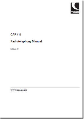 Radiotelephony Manual 2014 - CAP 413