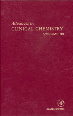 Advances in Clinical Chemistry: v. 36 (Hardback)